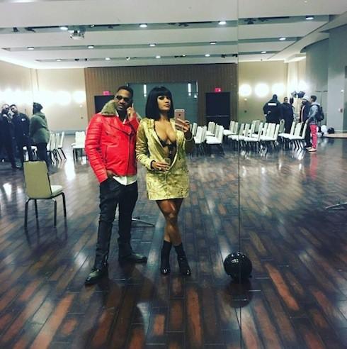 Stevie J and Joseline 2