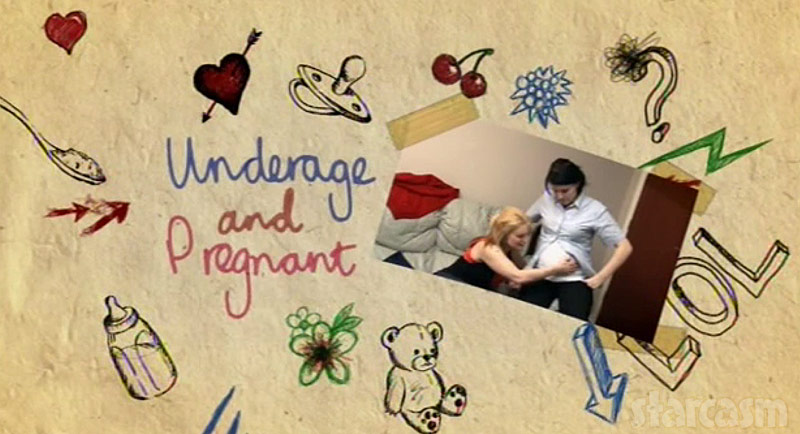 Underage and Pregnant UK show in England