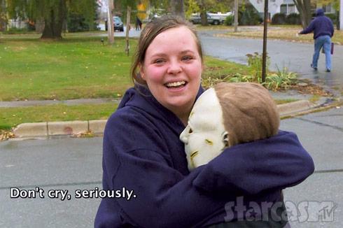 Catelynn Lowell Halloween emotional scene