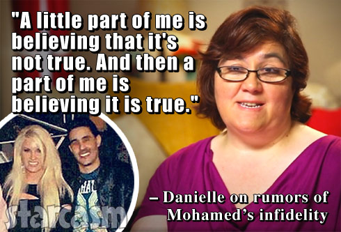 90 Day Fiance Danielle and Mohamed infidelity quote divorce