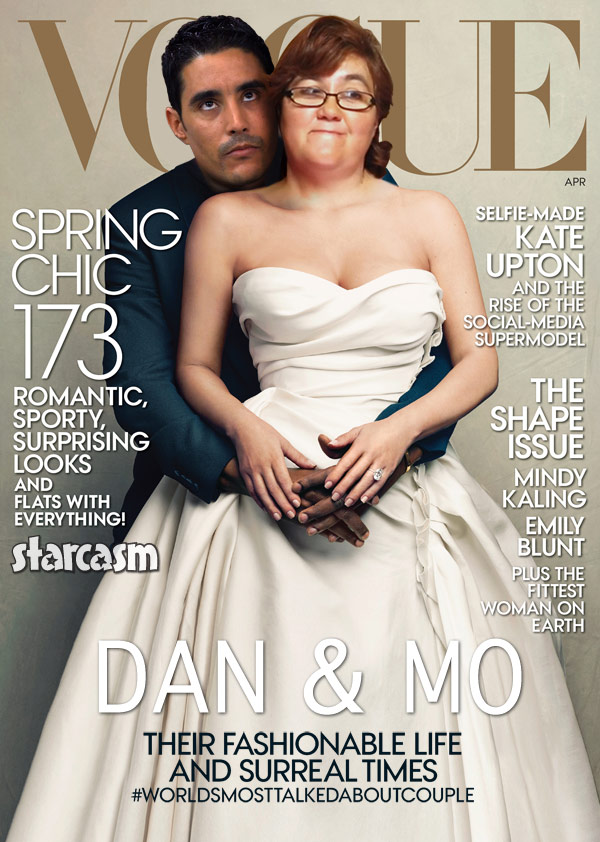 90 Day Fiance Danielle and Mohamed Vogue cover Kim Kanye