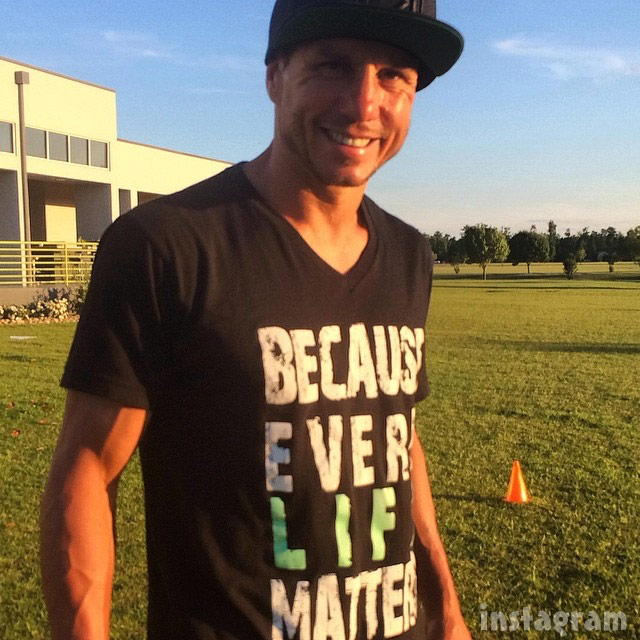 Dave Mirra every life matters shirt
