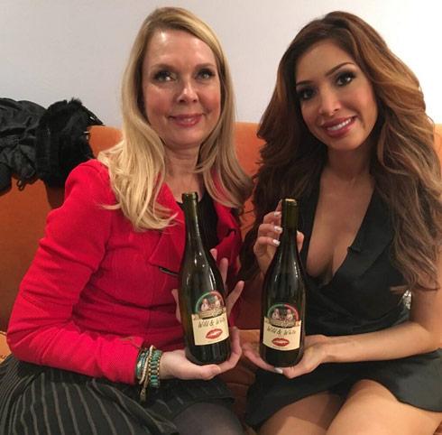 Farrah Abraham mom Debra Danielsen Mom and Me wine