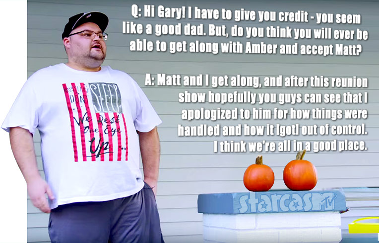 Gary Shirley quote about Amber's fiance Matt Baier