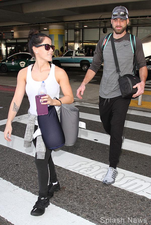 Jenelle Evans and boyfriend David Eason in Los Angeles