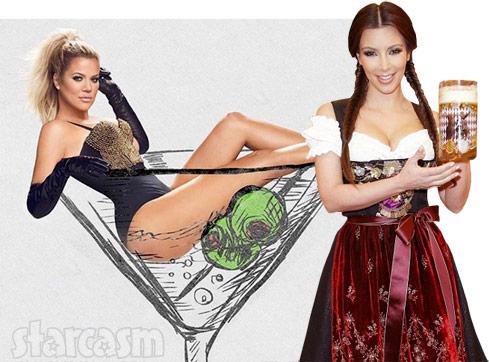 Khloe Kim Kardashian alcohol