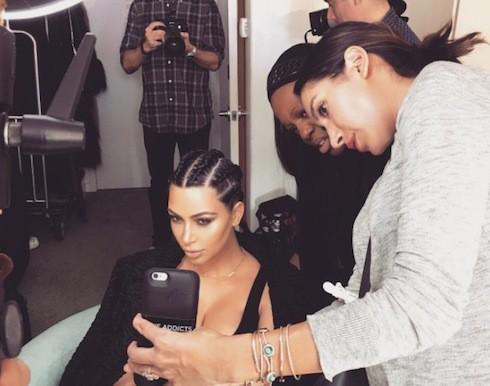 Kim Kardashian's vagina 2