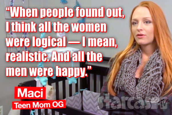 Maci Bookout Third Pregnancy Quote