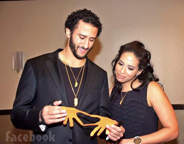Nessa and Colin Kaepernick dating