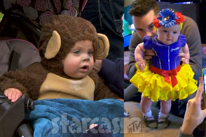 Teen Mom OG Novalee and Jayde Halloween costumes