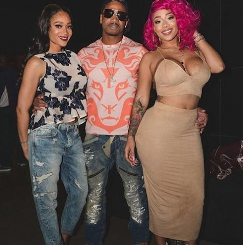 Stevie J and Mimi Faust 3