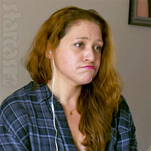 Teen Mom producer Kirsten Kiki Malone sad face