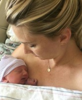 Glee's Heather Morris and son Owen Bartlett Hubbell