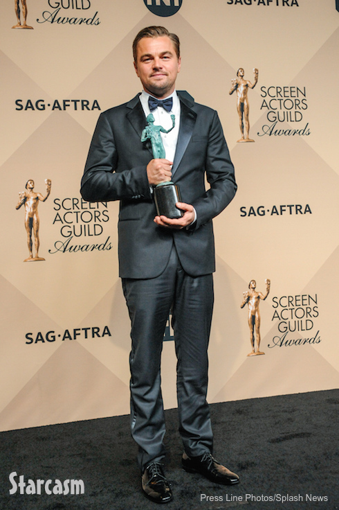 Leonardo DiCaprio at the 22nd annual Screen Actors Guild