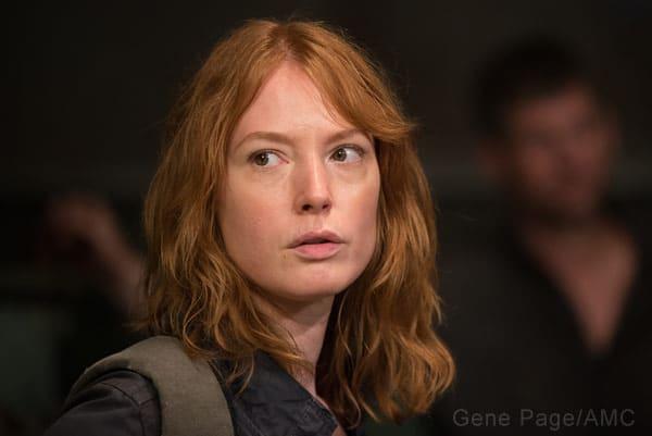 Alicia Witt as Paula on The Walking Dead