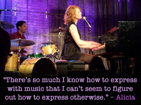 Alicia Witt music quote