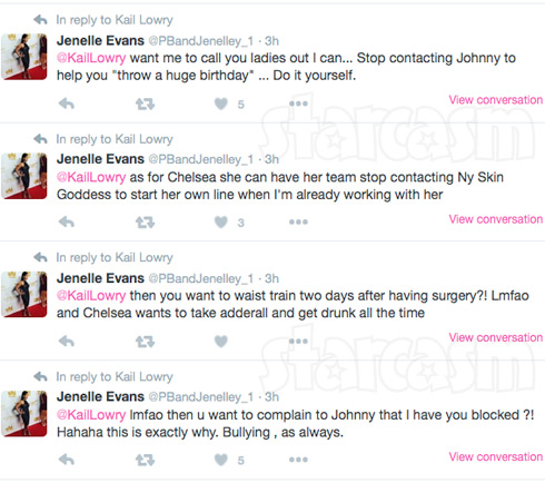 Jenelle Evans Kail Chelsea tweets adderall