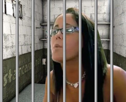Jenelle Evans arrested jail