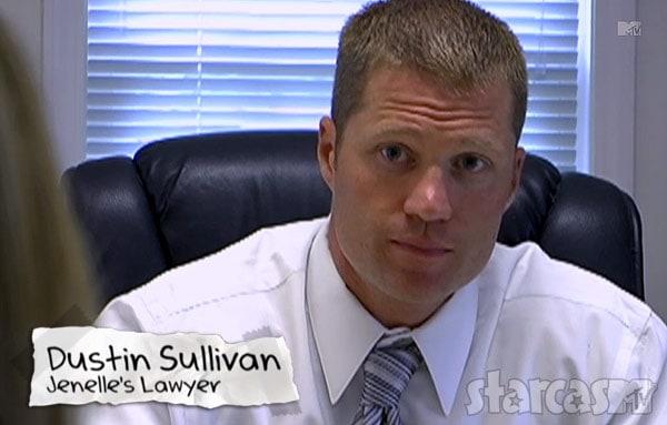 Jenelle Evans lawyer Dustin Sullivan