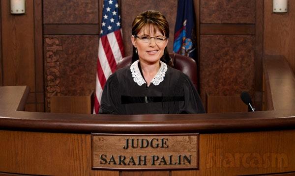 Sarah Palin to star in Judge Judy type court show