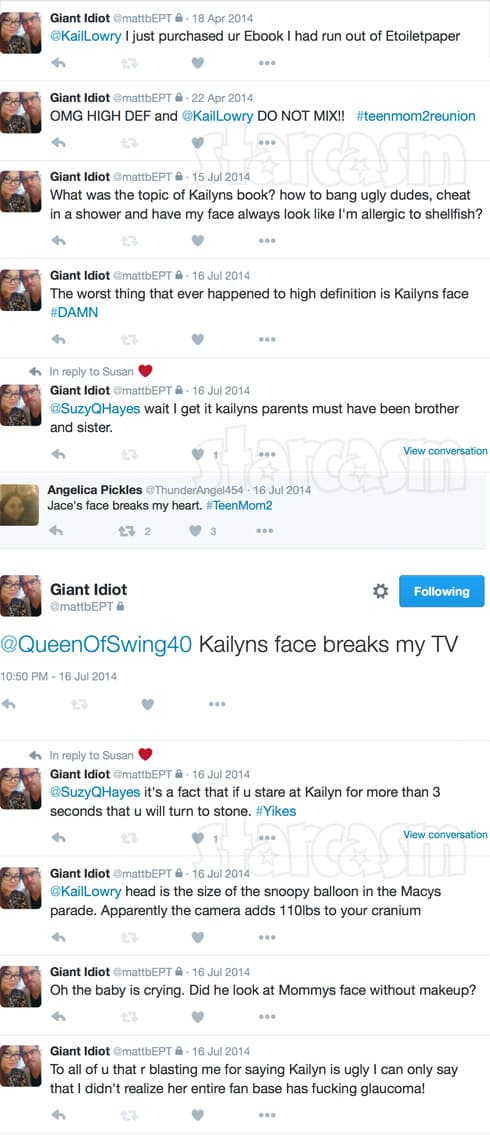 Matt Baier Kailyn Lowry tweets