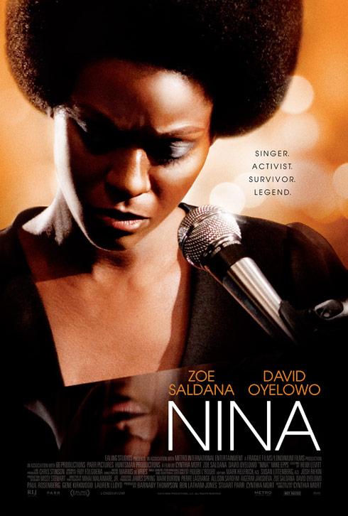 Nina Simone Zoe Saldana poster