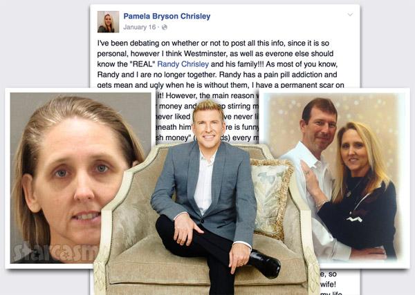 Todd Chrisley sister-in-law Pamela Chrisley arrest Facebook post