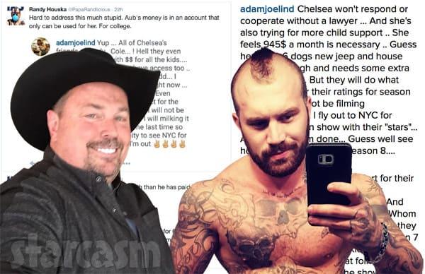 Randy Houska Adam Lind feud