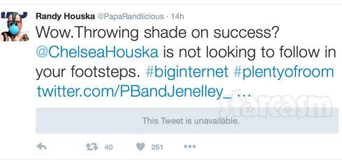 Randy Houska shade Jenelle tweet