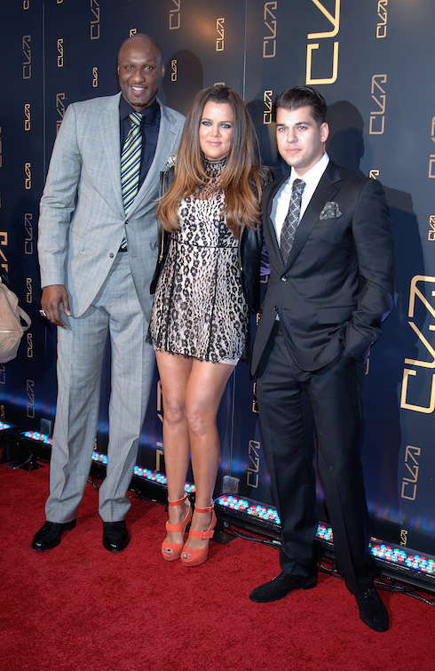 Archive photos of Rob Kardashian at various events in Las Vegas, NV and NYC. Pictured: Lamar Odom, Khloe Kardashian, Rob Kardashian Ref: SPL1009788 270415 Picture by: Photo Image Press / Splash News Splash News and Pictures Los Angeles: 310-821-2666 New York: 212-619-2666 London: 870-934-2666 photodesk@splashnews.com