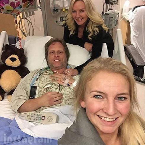 Sig Hansen heart attack hospital photo