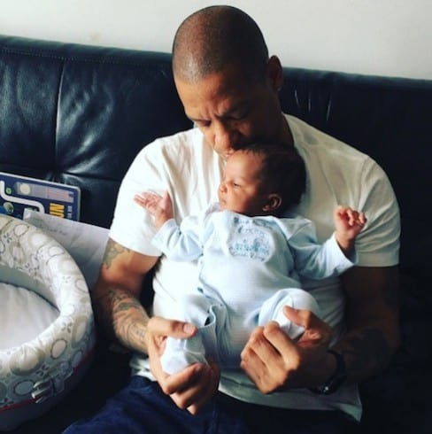 Tara Wallace and Peter Gunz new baby photos 2