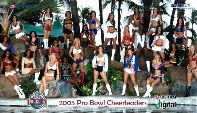 2005 pro bowl cheerleaders Brandi Redmond