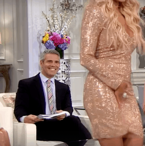 Andy Cohen at RHOBH reunion