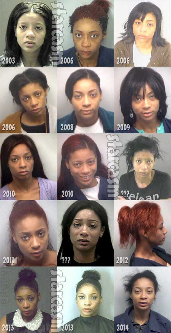 LHHATL Tommie AKA Atasha Jefferson arrest records and