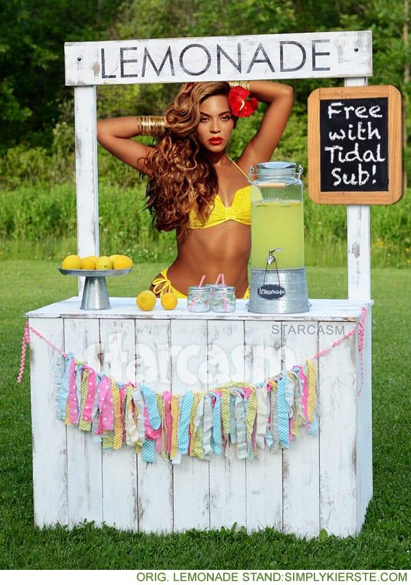 Beyonce lemonade stand