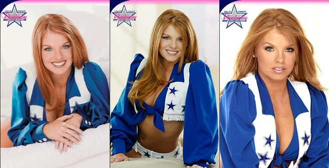 Brandi Redmond Dallas Cowboys cheerleader photos