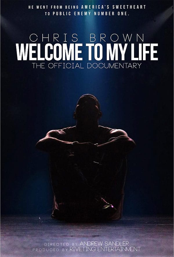 Chris Brown Welcome To My Life movie poster