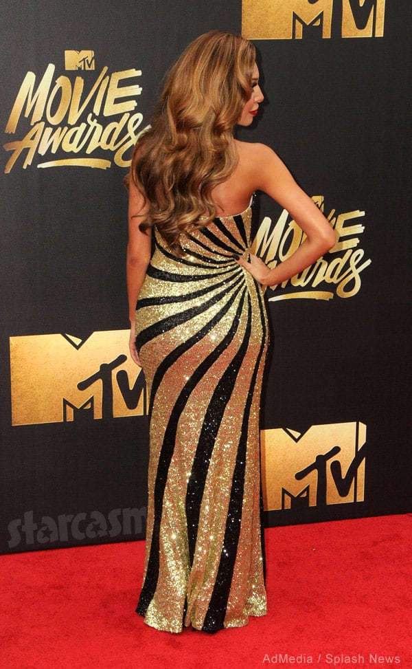 Farrah Abraham booty red carpet