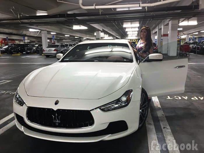 Farrah Abraham new car Maserati Ghibli