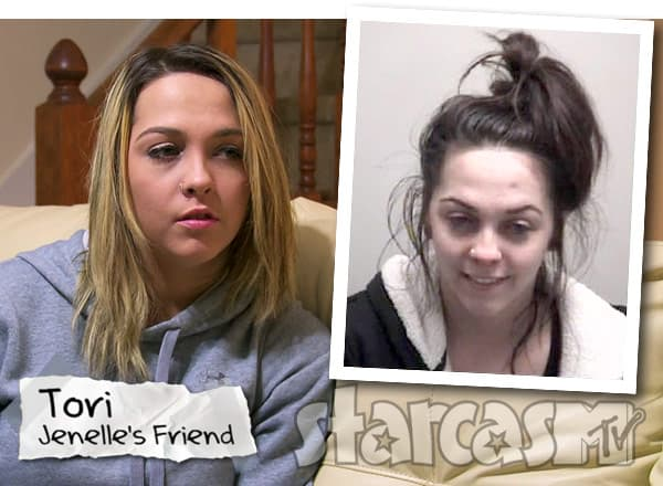 Jenelle Evans friend Tori Rhyne arrest for heroin