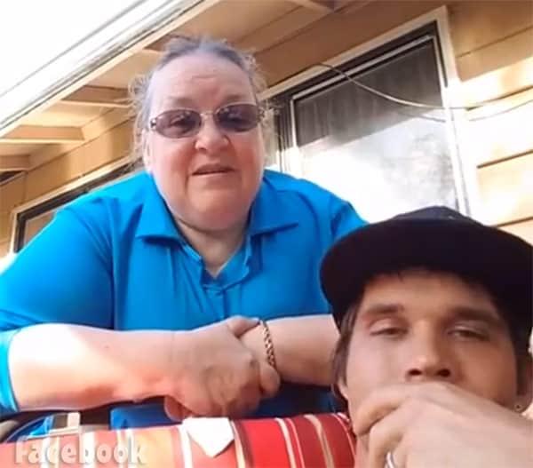 Jeremiah Raber and Mama Mary Schmucker