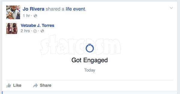Teen Mom 2 Jo and Vee Engaged Facebook