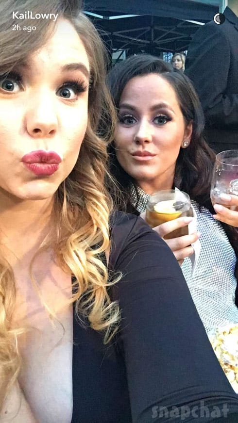 Kail Lowry Jenelle Evans 2016 MTV Movie Awards