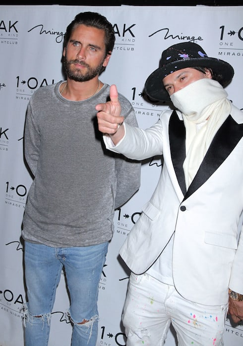 Scott Disick hosts 1 Oak Nightclub inside Mirage Hotel & Casino Featuring: Scott Disick Where: Las Vegas, Nevada, United States When: 01 Apr 2016 Credit: DJDM/WENN.com