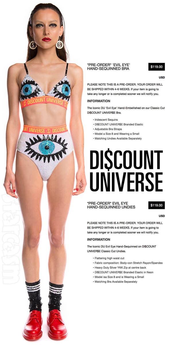 Kylie Jenner Coachella eyeball bikini order online