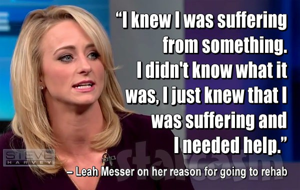 Leah Messer Steve Harvey quote
