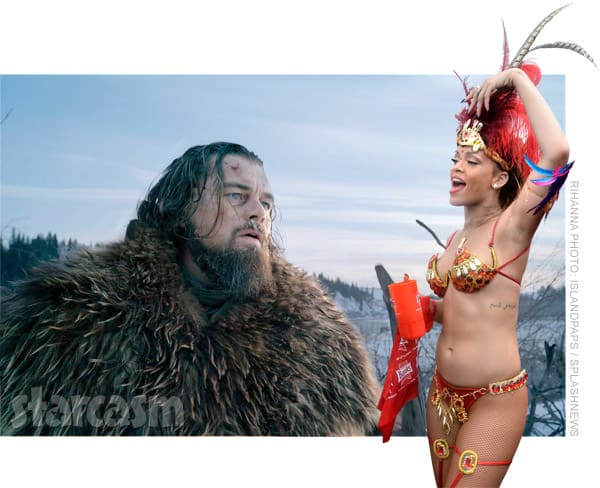 Leonardo DiCaprio Rihanna together