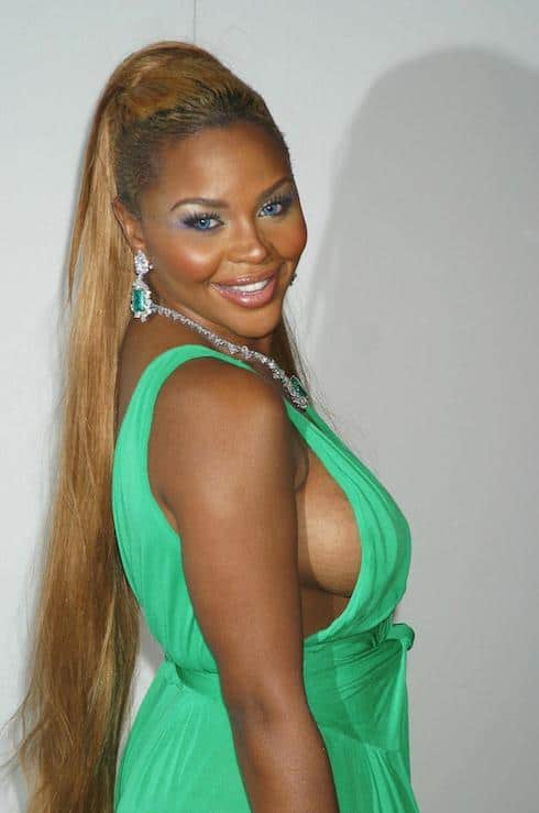 KIMBERLY JONES aka LIL' KIM attending the Marc Jacobs fashion show held at Pier 54 Where: New York City, United States When: 14 Sep 2004 Credit: LK/WENN
