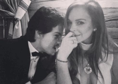 Lindsay Lohan and Boyfriend Egor